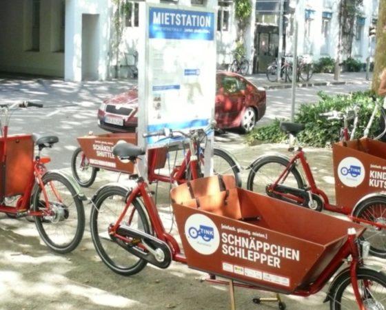Unsere Transporträder jagen jedem Bedürfnis CO2-arm hinterher