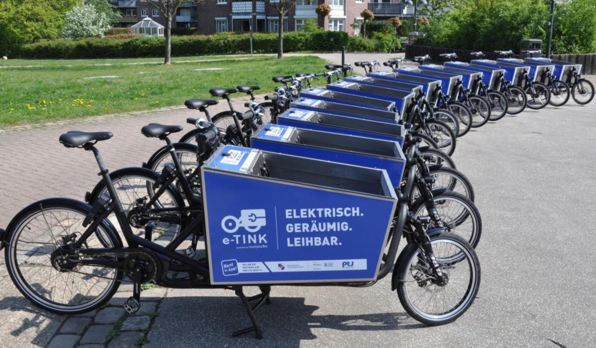 TINK Transport-Pedelec Flotte, Norderstedt