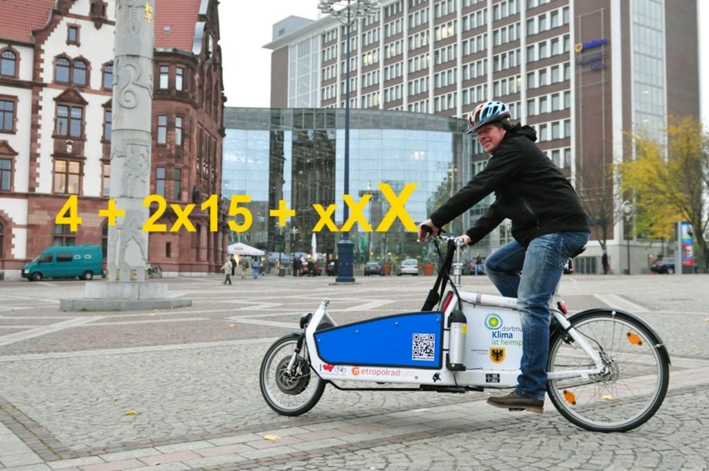 Lastenräder auf dem Vormarsch in Dortmund
